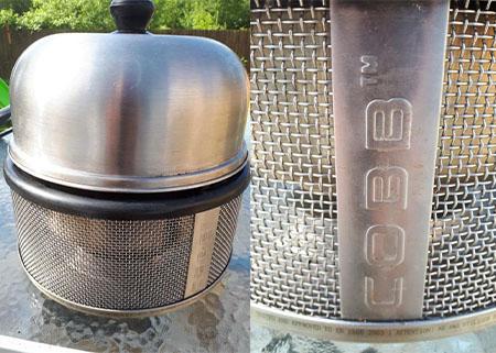 Cobb bbq cooker