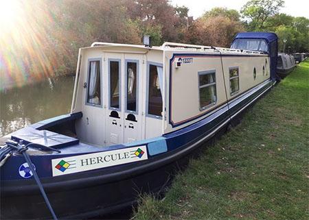 Narrowboat Hercule