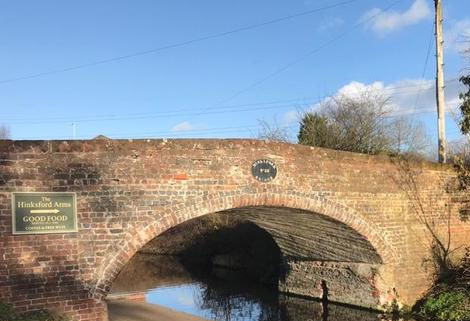 Old Bridge 38 on the Staffs & Worcester Canal