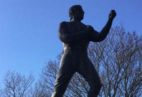 William Perry statue