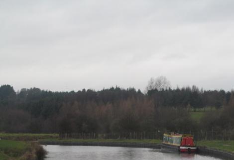 countryside between Church & Rishton, Leeds & Liverpool Canal