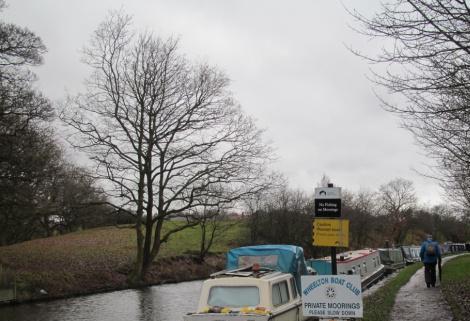 Wheelton boatyard and boat club