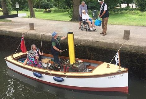 Mark Rudall waterways chaplains