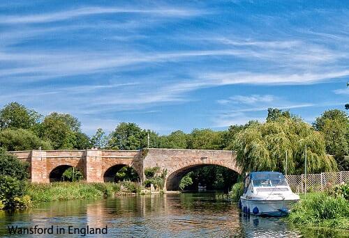 Wansford in England, River Nene