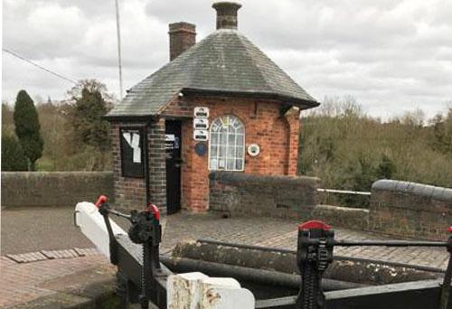 Bratch Locks on the Staffs & Worcs canal