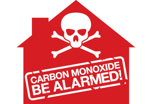 warning sign for carbon monoxide