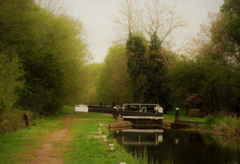 Aston Locks, Montgomery Canal