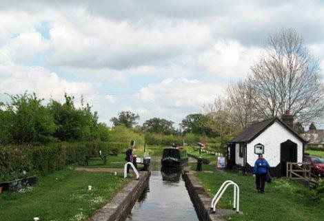 Frankton Locks, Montgomery Canal