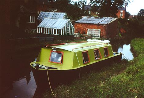 Nyzark springer narrowboat