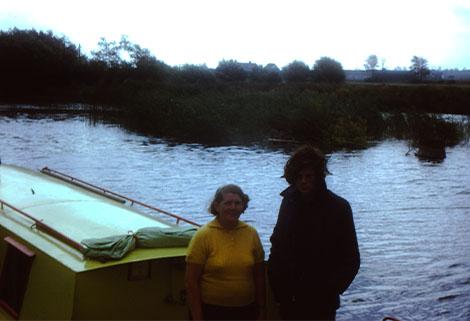 Michael Nye age 16 aboard Nyzark