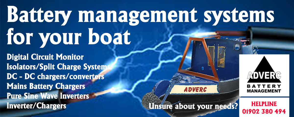 Adverc Battery Management Systems for Boats