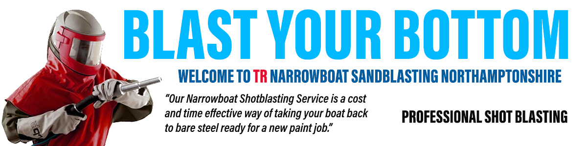 TR Narrowboats professional sandblasters