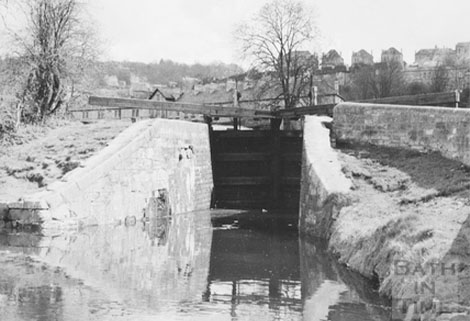 Widcombe Lock