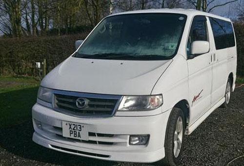 Mazda Bongo - camper van owned by Bob Sanders