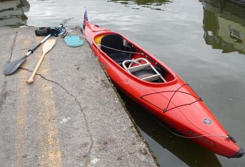 Perception Kiwi 3 HDPE touring kayak (Bob Sanders)