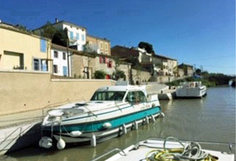 nicols boat hire, canal du midi