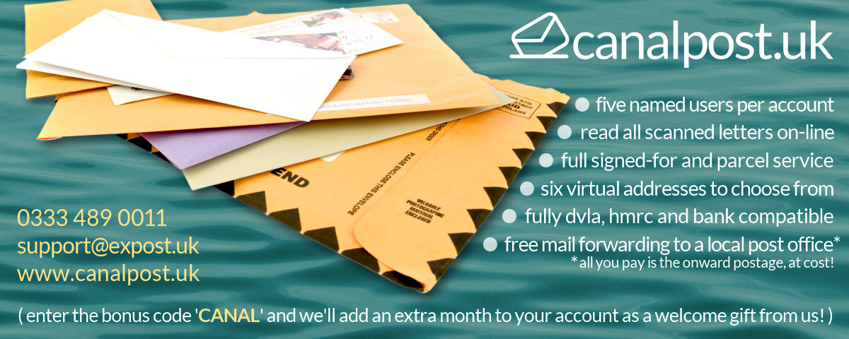 CanalPost postal services for boaters