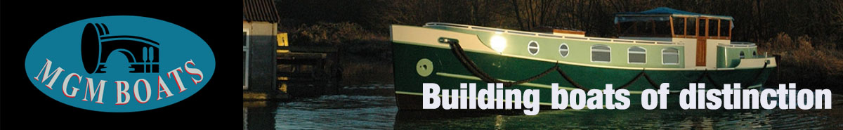 MGM Boats - builders of canal boats