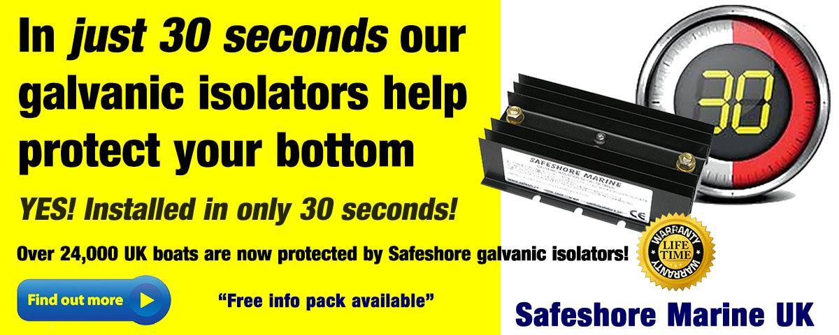 Safeshore Marine - galvanic isolators