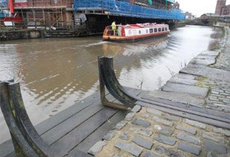 Wigan Pier - what is left of it