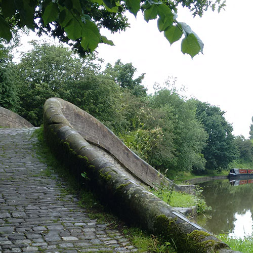 Turnover Bridge on Macclesfield Canal