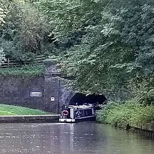 Blisworth Tunnel, Grand Union Canal