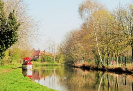 Bridgewater Canal near Grappenhall
