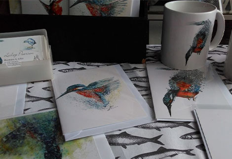 cards, prints & mugs by Lesley Pearson