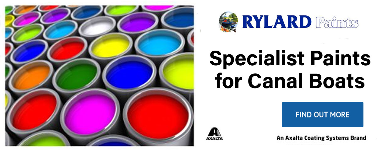 rylard paints for canal boats