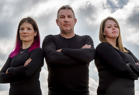 Force Genesis - Jooles Paillin, Mark Sealey and Amy Wood