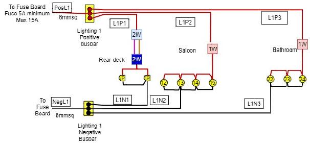 wiring a narrowboat 6
