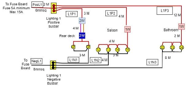 wiring a narrowboat 7