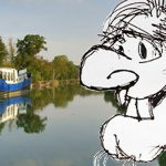 cartoon drawing of Spike Scowcrovich