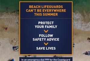 RNLI beach safety campaign