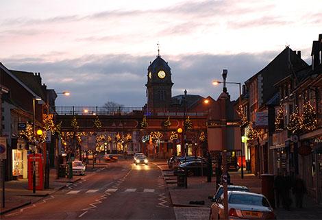 Hungerford Christmas Lights