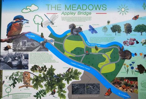 Plan of the Meadows, Appley Bridge