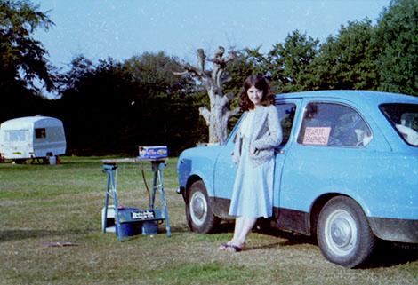 Janice Nye & Fiat 850