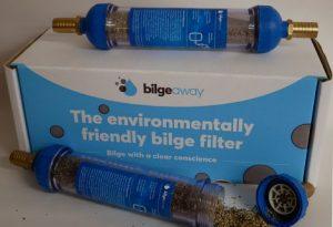 Bilgeaway - bilge filter and box