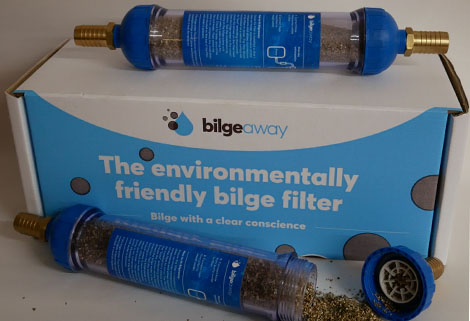 Bilgeaway - bilge filter and box