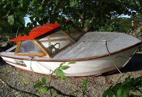 Whimbrel as she was when Colin Ogden first bought her