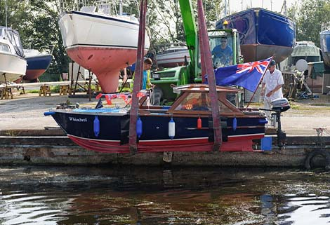 WHimbrel is re-launched