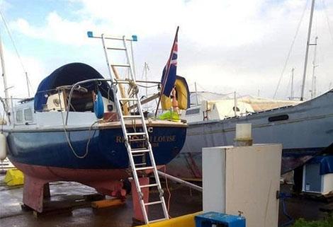 colin ogden's boat rebekah louise