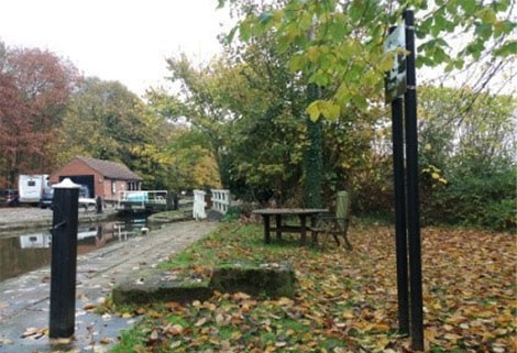 Forest Middle Top Lock, Chesterfield Canal