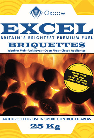excel briquettes. Oxbow