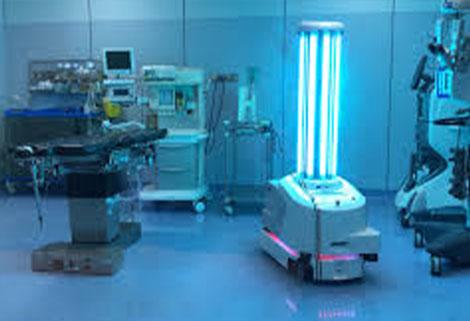 blue ocean robots at work
