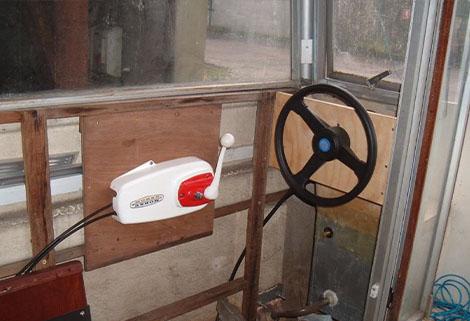 caraboat helterskelter steering position front port