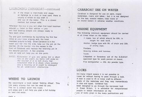 caraboat manual