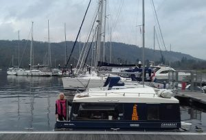 caraboat at Ferry Nabb, Windermere