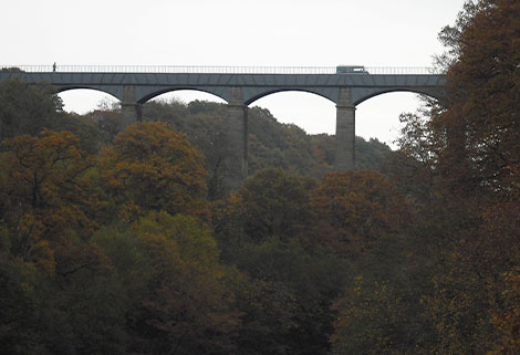 caraboat travels - pontcysyllte aqueduct