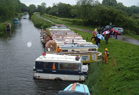 trail boat festival